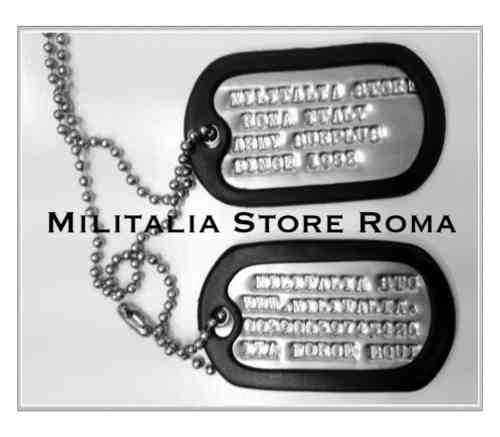 PIASTRINE DOG-TAGS